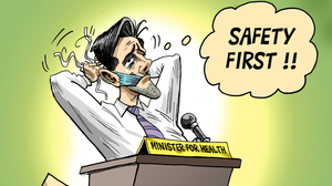 Simon Harris cartoon