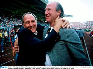 NEVER FORGOTTEN: Jack Charlton and Maurice Setters both passed away during 2020 - but what lives they led, and what deeds they managed to do