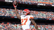 It looks like the slippery slope has opened up in front of Kareem Hunt. Career over; life unfulfilled. Photo: Getty