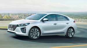 THE STYLISH HYUNDAI IONIQ: Superbly well-equipped and best family electric car out there.