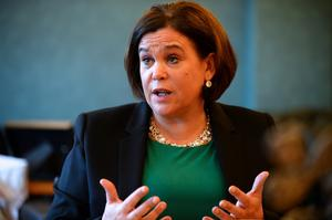 Mary Lou McDonald. Picture: Justin Farrelly