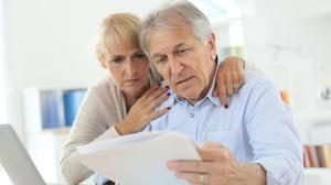 Worry: There are fears that the State pension alone won't be an adequate source of income for retirees who also have to pay rent.