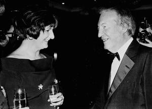 Charles Haughey with Terry Keane and her daughter Madeleine in Kerry. Photo: Michelle Cooper-Galvin