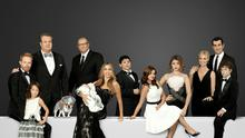 MOVING THE GOALPOSTS: The TV show 'Modern Family' depicts divorcees, a blended family, and a gay couple rather than the traditional nuclear set-up