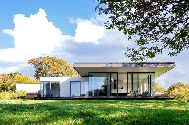 Back in 2009, nine Irish projects made the shortlist for the prestigious World Architectural Festival awards; this year just one appears on it. Never mind, it's a stunner. Keeper House and Lodge in Tipperary, pictured, by architects Scott Tallon Walker and completed in 2014, is a low-energy design for two separate houses set around a three-sided walled garden. The winner will be announced on November 18.