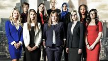 Some of the contestants on this year's The Apprentice including Katie, Ella, Roisin, Nurun, Bianca, Sarah, Lauren, Lindsay, Jemma and Pamela.