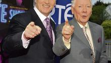 Friends: Pat Kenny and Gay Byrne