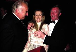 Alex Ferguson with Horseracing Tycoon John Magnier and Susan Magnier.