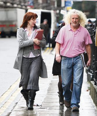 Independent TDs Clare Daly and Mick Wallace