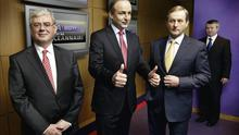 Fianna Fail leader Micheal Martin and Fine Gael's Enda Kenny have more in common than they'd care to admit