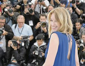 CAPTION: Actress and jury member Ludivine Sagnier poses for photographers at the film festival in Cannes. Even the glamorous festival is not immune from the effects of the global recession. AP PHOTO