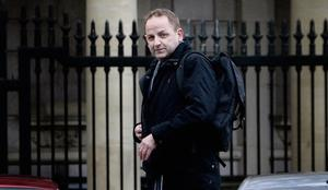 FOR THE RECORD: Whistleblower Sgt Maurice McCabe arriving for the Dail Public Accounts Committee meeting yesterday. Photo: Tom Burke