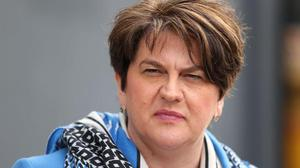 Arlene Foster. Picture: PA