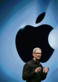 Apple chief executive Tim Cook: the US Senate's report on firm's tax activities says an Irish-based subsidiary reported a net income of $30bn (€23.33bn) from 2009 to 2012 and paid no tax on any of that money