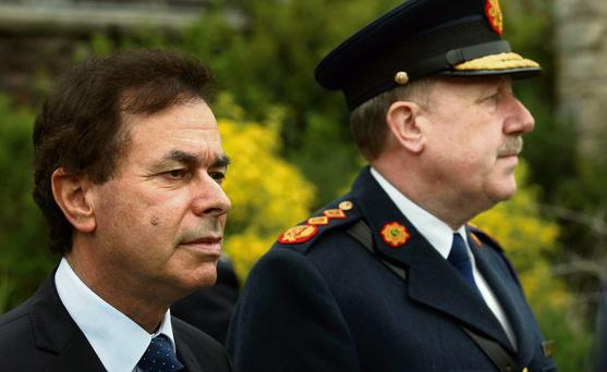 AT LOW EBB: In the wake of the series of squalid little rows, confidence in Alan Shatter is fading while the reputation of the Justice Minister and the Garda Commissioner has also been severely damaged by the image of the minister and his commissioner gossiping like a pair of old wives.