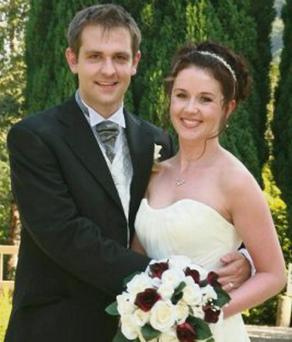 Jill Meagher with her husband Tom.