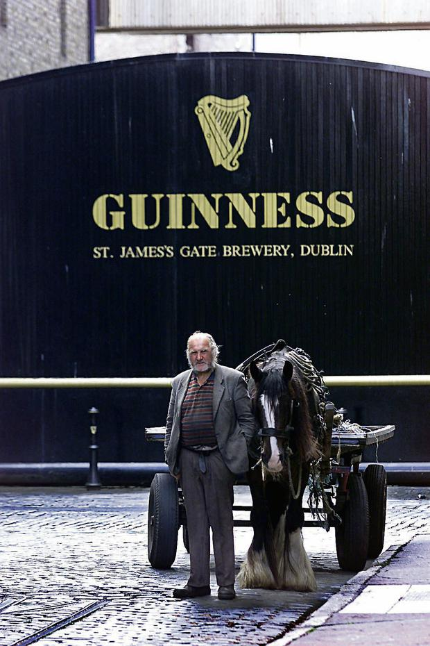 Iconic: the Guinness brewery at St James's Gate, Dublin. But our relationship with the brand is more complicated than many realise.