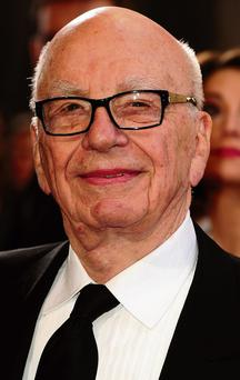 A BUSY MAN: Rupert Murdoch leads a very eventful life
