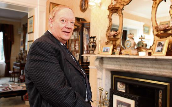 Jim Mansfield at home