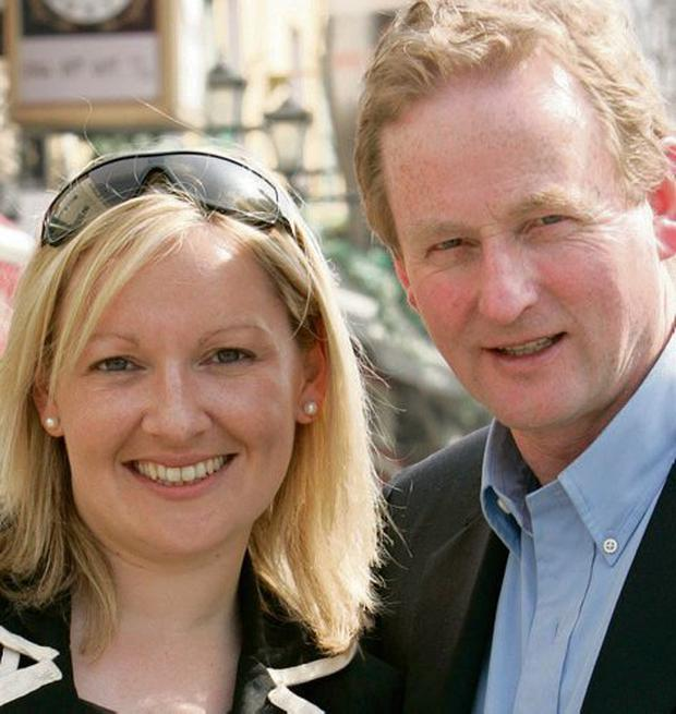 PARTING OF THE WAYS: Lucinda Creighton and Enda Kenny are at odds over the abortion legislation