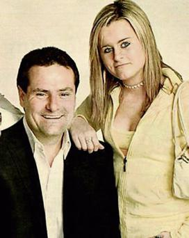 Paul with his late daughter, Lynsey, who fell from a cruise-ship balcony while on a family holiday in 2006.