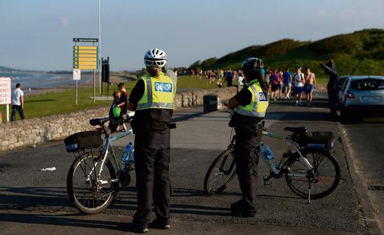 MELTING POT: Gardai were called to Portmarnock Beach in Dublin recently over reports of fights between gangs of black and white youths