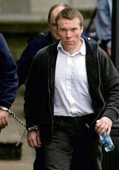 Noel Callan, who was convicted of murdering Gda Sgt Patrick Morrissey