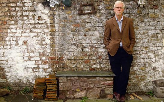 RESIGNED: Author and journalist David Monagan at his home in Military Hill, Cork