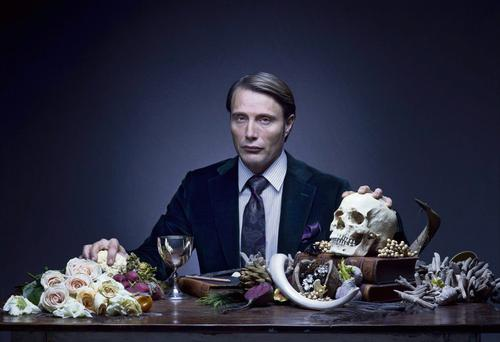 FINE YOUNG CANNIBAL: Danish actor Mads Mikkelsen as a young Dr Hannibal Lecter in NBC TV series 'Hannibal'