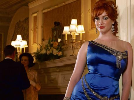 BUSINESS AND PLEASURE: The US television drama Mad Men, starring Christina Hendricks, portrays an era when infidelity was also prevalent in workplaces