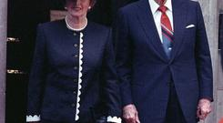 Margaret Thatcher was worried about Ronald Reagan visiting Ireland in 1984