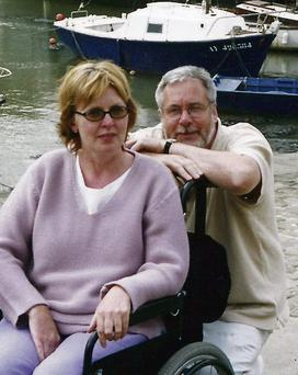 Tom Curran and Marie Fleming