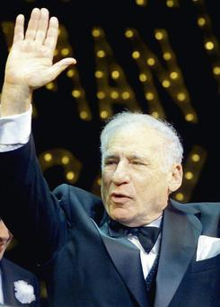 Mel Brooks: it's enough to make your head spin