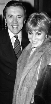 David Frost with his first wife Lynne Frederick