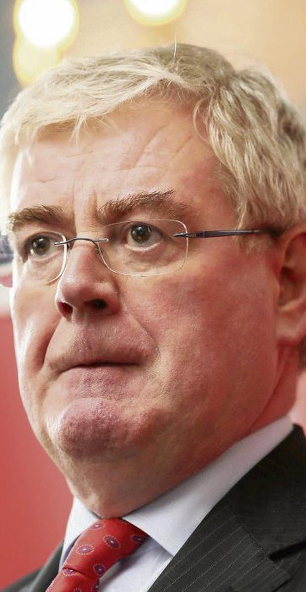 CONVICTION AND CONCERN: Tanaiste Eamon Gilmore