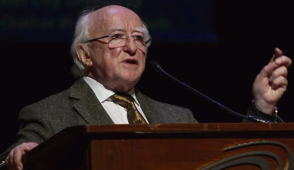 'Crisis of capitalism': President Higgins railed against the high level of unemployment and increasing inequality in our society