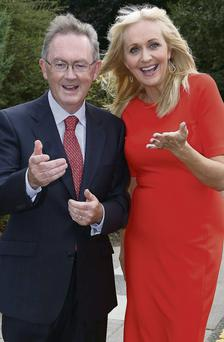 RTE presenters Sean O'Rourke and Miriam O'Callaghan