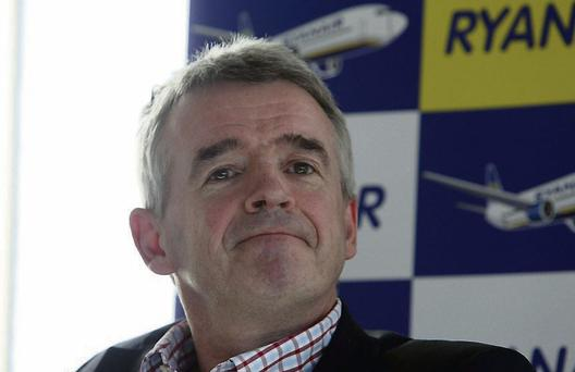 Michael O'Leary: the Ryanair chief executive is aiming to go back to basics to 'create a less aggressive and more caring image'