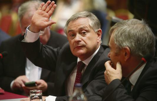 Public Expenditure and Reform Minister Brendan Howlin at a recent Labour gathering