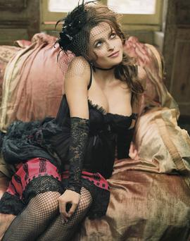 ECCENTRIC: Actress Helena Bonham Carter was immediately cast as the humiliated woman in the tabloids