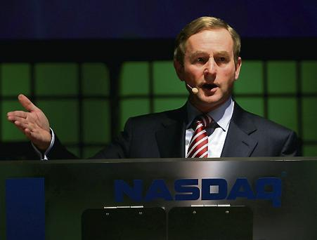 Enda: 'It's been raining here for years'