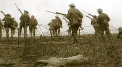 soldiers in World War I