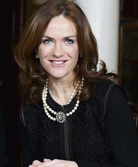 PRESS STORM: Master of the National Maternity Hospital Dr Rhona Mahony claims she has been 'personally vilified' over the last few days and that this has been 'utterly unwarranted'