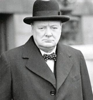 Winston Churchill: powerful message comes to mind