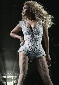 Beyonce's thighs are a popular topic of 'fat talk'.