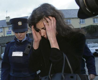 Jennifer Lauren, niece of fashion designer Ralph Lauren, was fined €2,000 for an air-rage incident. Photo: Niall Carson