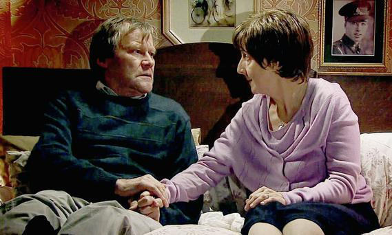 The 'Coronation Street' right-to die storyline surrounding Hayley has focused minds on the issue once again. PA