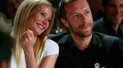 NEW AGE-STYLE SPLIT: Gwyneth Paltrow, and her husband, Chris Martin who have separated. Photo: Colin Young-Wolff/AP