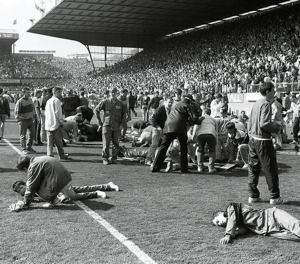 On April 15, 1989, 96 Liverpool fans lost their lives at Hillsborough. Photo: PA
