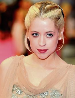 Peaches Geldof in 2011. Photo: Ian West.
